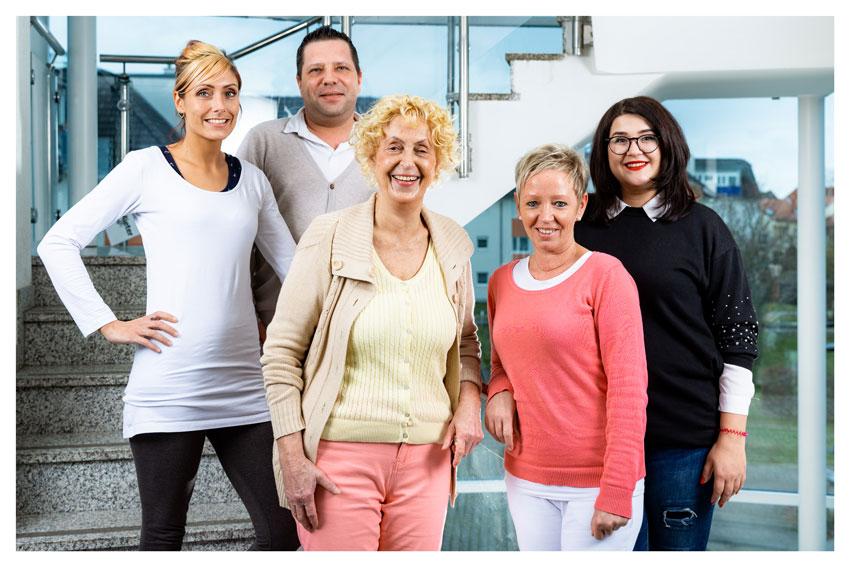Team der Kosmetikschule Ingraban
